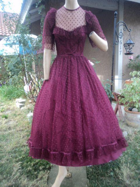 From Caligoddess Vintage on Etsy | Vintage Prom | Pinterest ...
