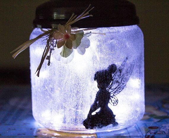 Fairy Light Jar Fairy Jars Fairy Night Lights