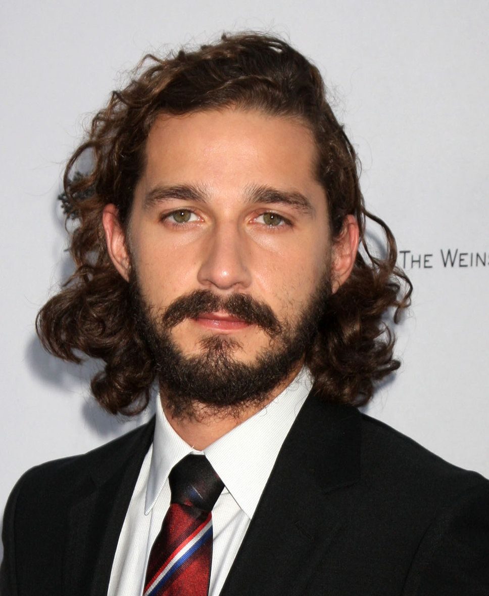 THE SHIA LABEOUF Best Curly Mens Hairstyles Shia Lebeouf. Hairstyle NamesMen  Curly HairstylesLong Hair ...