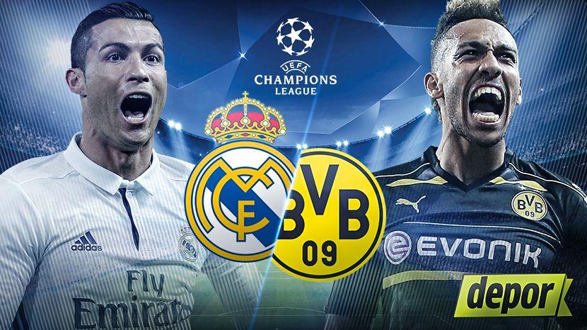 Pin By Roja Directa On Futbol En Vivo Online Gratis Borussia Dortmund Real Madrid Champions League