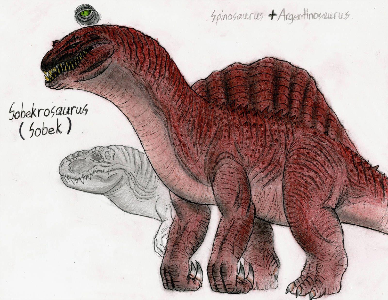 Jurassic Park Sobekrosaurus by MonsterKingOfKarmen