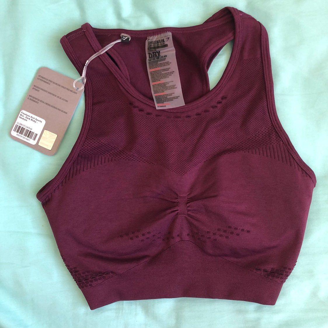 Brand new with tag. Size medium Sports bra, Bra, Gymshark