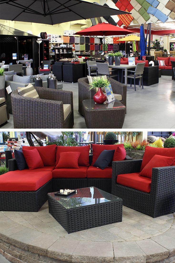 sections meubles de jardin parasols et gazebos chez club piscine super fitness de blainville
