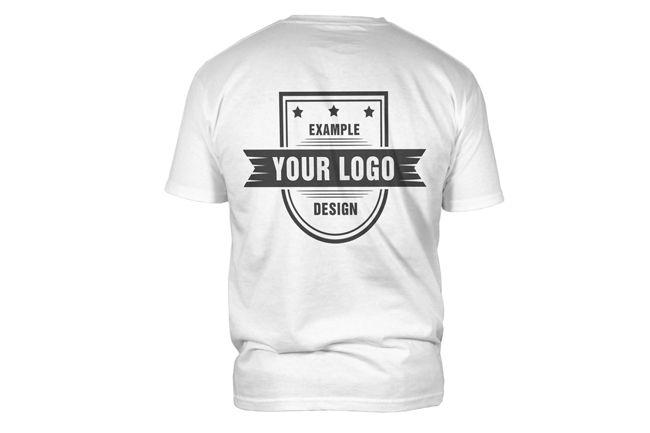 Download T Shirt Back View Mockup Template Mediamodifier Online Mockup Generator Clothing Mockup Mockup Template Shirt Mockup
