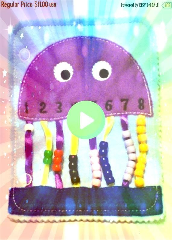 book learning numbers  busy book  toddler learning toy  educational gift  church qu Quiet book learning numbers  busy book  toddler learning toy  educational gift  church...