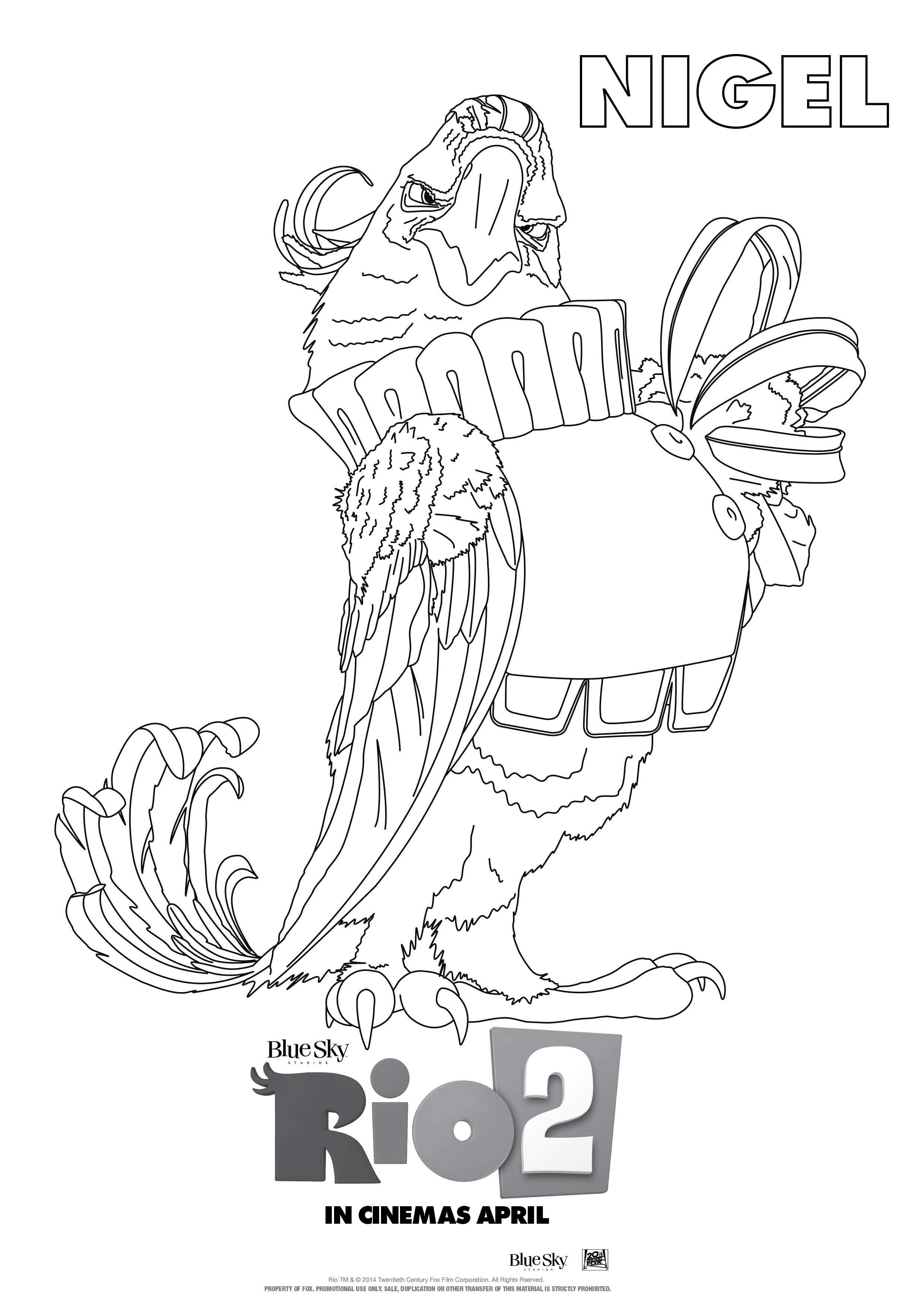 Rio 2 Colouring Pages Mums In The Know Coloring Pages Frog Coloring Pages Colouring Pages