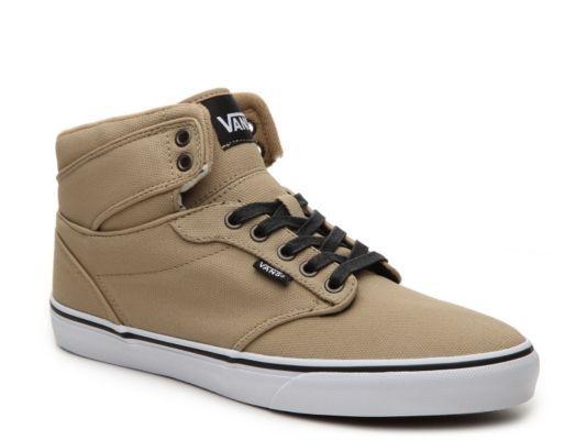 ca57bd8578fe Men s Vans Atwood Hi Canvas High-Top Sneaker - - Tan