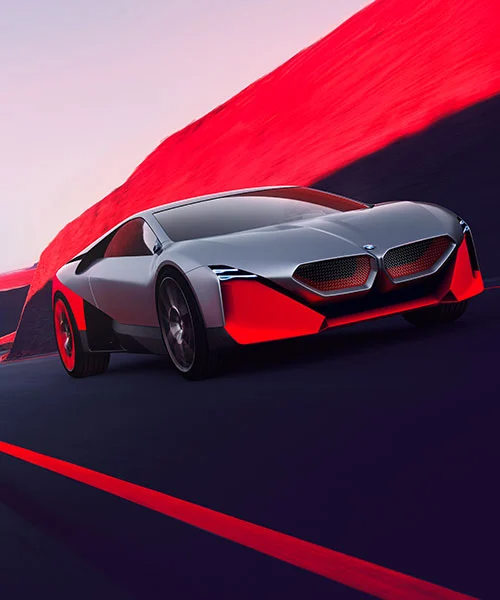 Bmw Vision M Next Conceptualizes Flexibly Self Driving Sports Car Bmw Sport Bmw Sports Car
