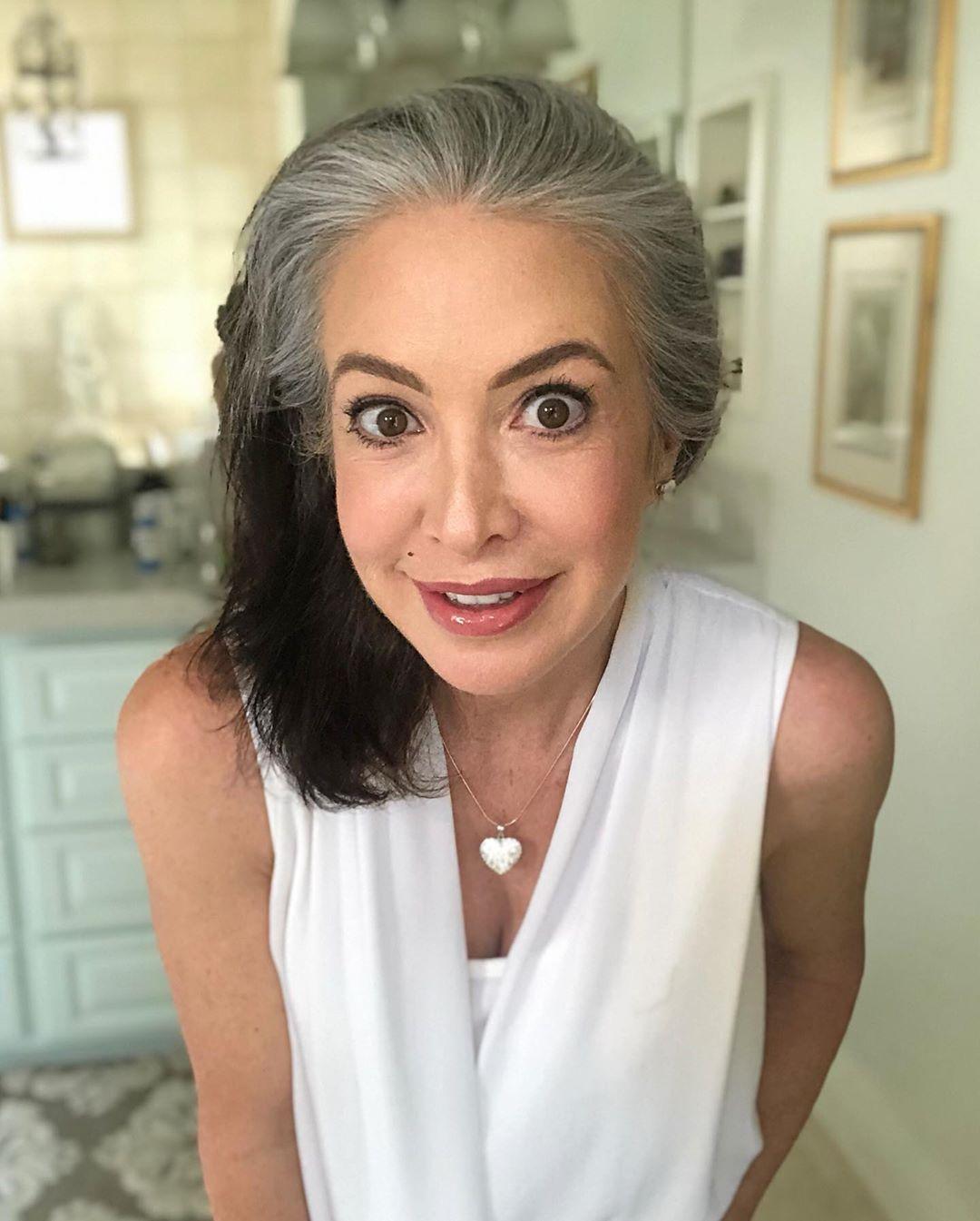 Pin on Transitioning to Grey Hair
