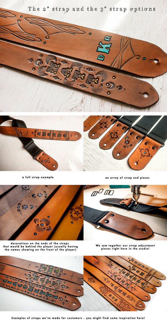 "Leather Graft Hi Quality Snakeskin Webbing Guitar Strap 2"" Extra Long Range"