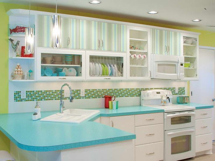 50s kitchen ideas kitchen design retro 50s kitchen decor with striped 10046