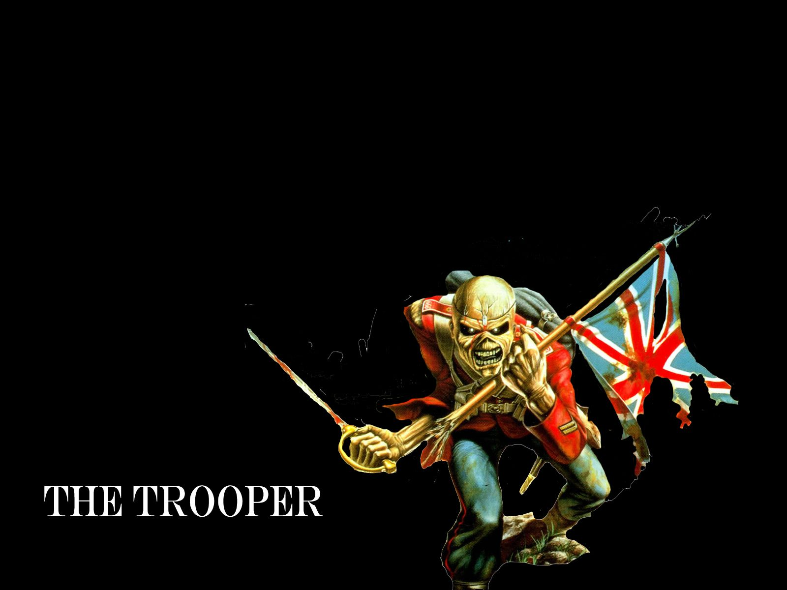 iron maiden the trooper wallpapers for android sdeerwallpaper