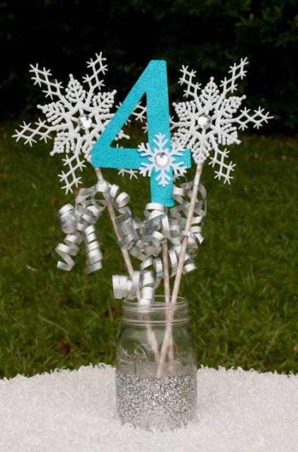 Birthday Party Table Centerpieces Etsy 31 Ideas #frozenbirthdayparty