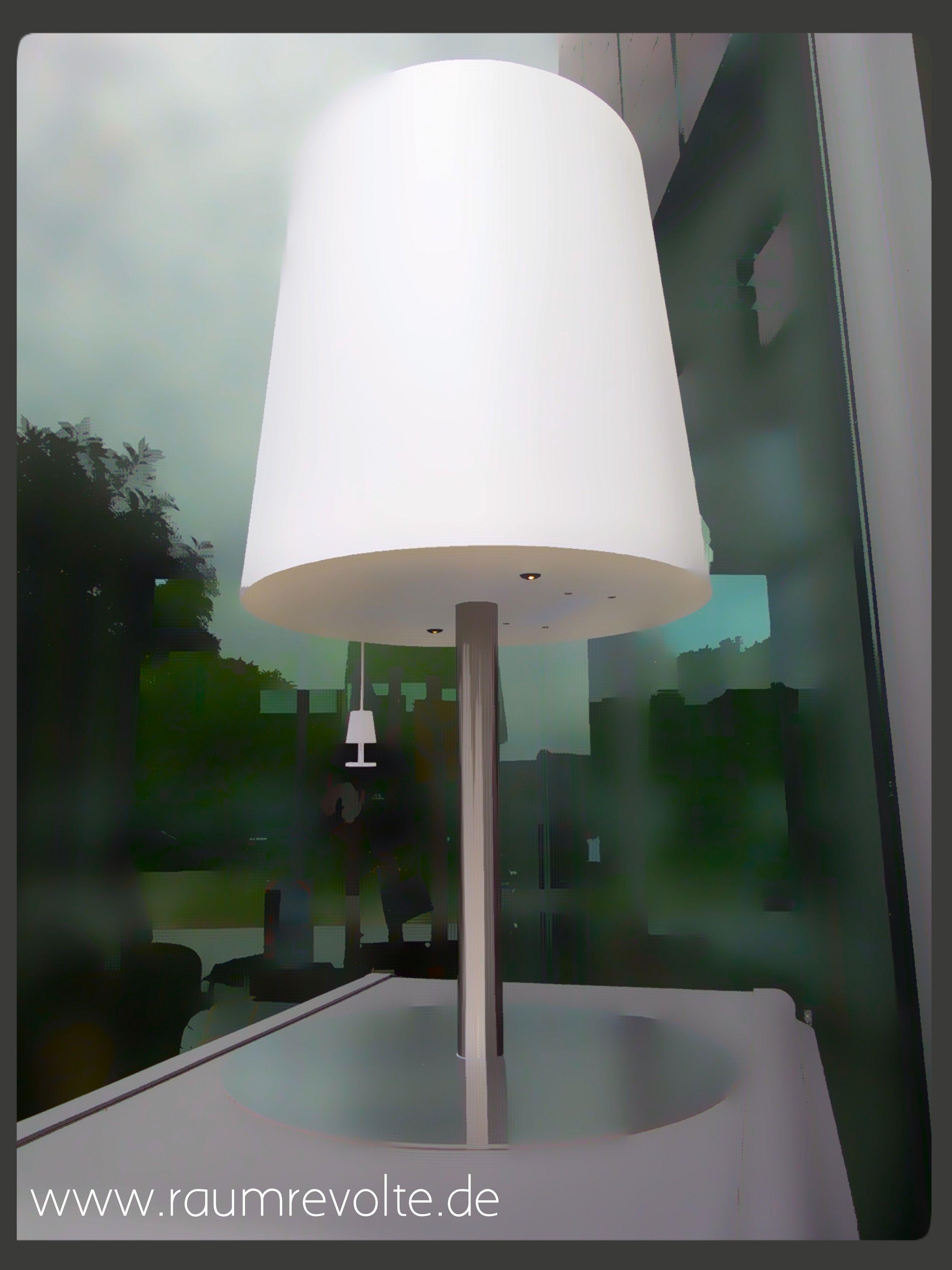 GACOLI Solar LED Tischleuchte Checkmate 2, Warmweiß, Outdoor