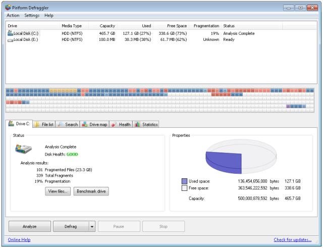 auslogics disk defrag majorgeeks