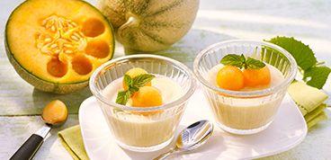 Rezepte GDM Melone 03Joghurt Mousse da P