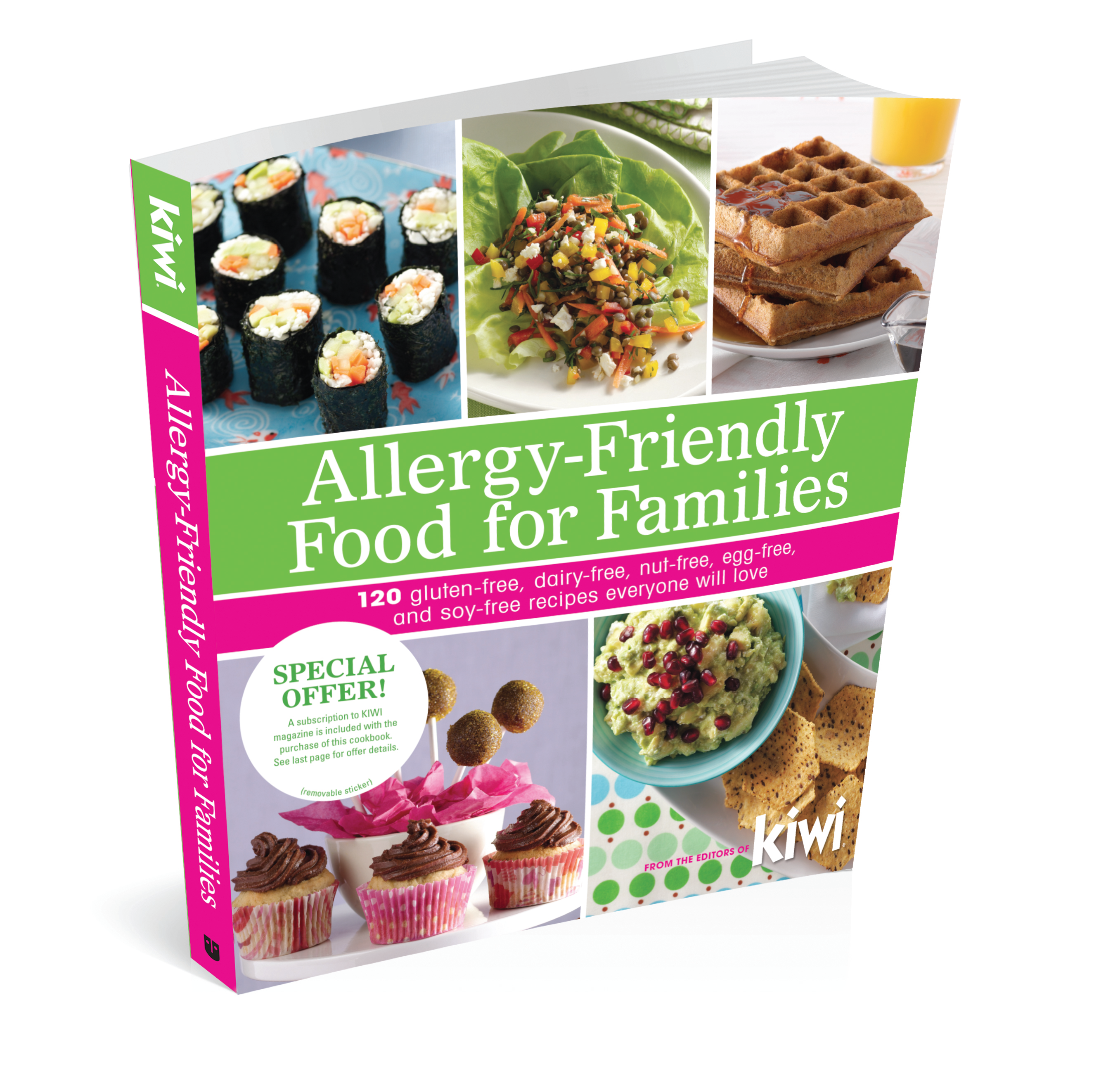 Kiwis first cookbook on sale in april books i love pinterest allergy friendly food for families edwards foods market book forumfinder Choice Image