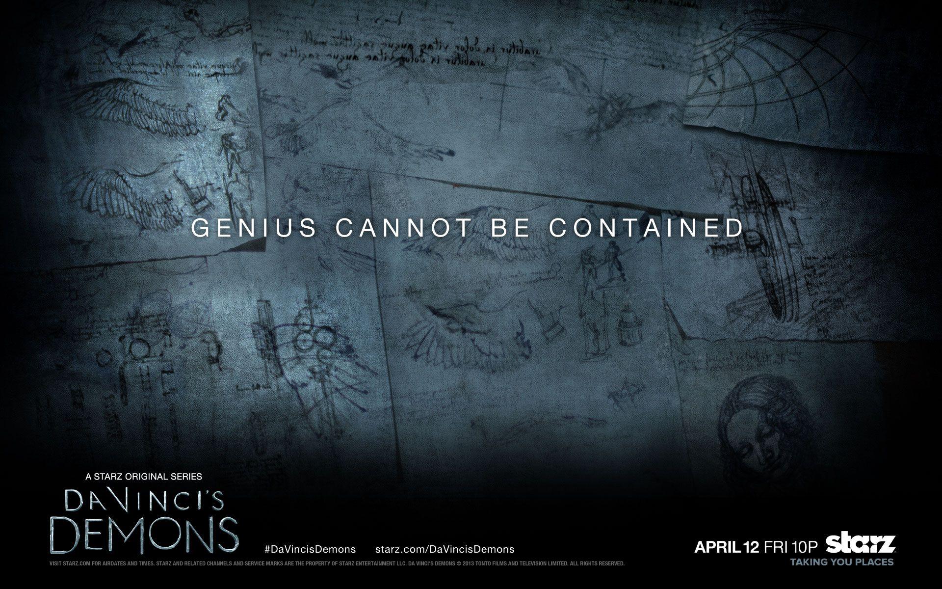 Wallpaper Of Da Vinci's Demons For Fans Of Da Vinci's
