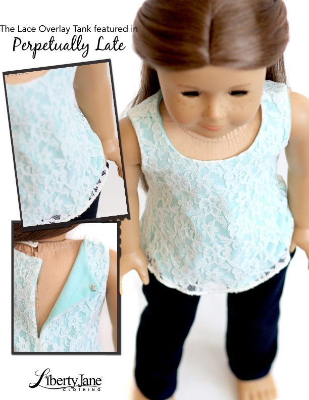 Lace Overlay Tank Top 18\