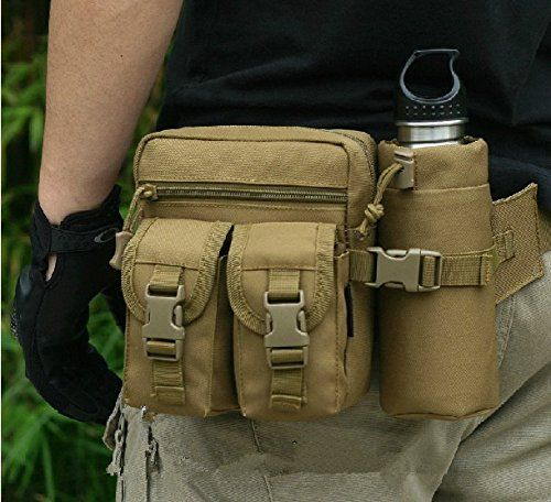 5360603cda Outdoor Jungle Hiking Cycling Bike Camping Fanny Waist Pack Pouch Hip Belt  Bag Tactical Pocket (