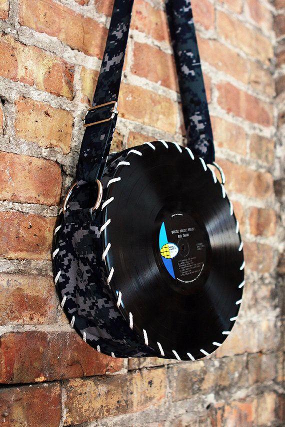 Digital Vinyl Record Bag Record Crafts Vinyl Record Art