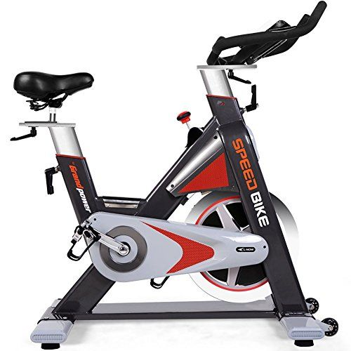 Suiki Adjustable Indoor Cycling Bike Ultra Quiet Bicycle Stationary Bicycle With Flywheel And Lcd Display Cardio Fitness Cycle Trainer Professional Exercise Biking Workout Best Exercise Bike Indoor Bike Workouts
