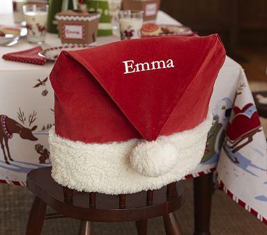 Father Christmas//Santa Belt Design DEAR SANTA NAPKIN RINGS Xmas Party//Dinner