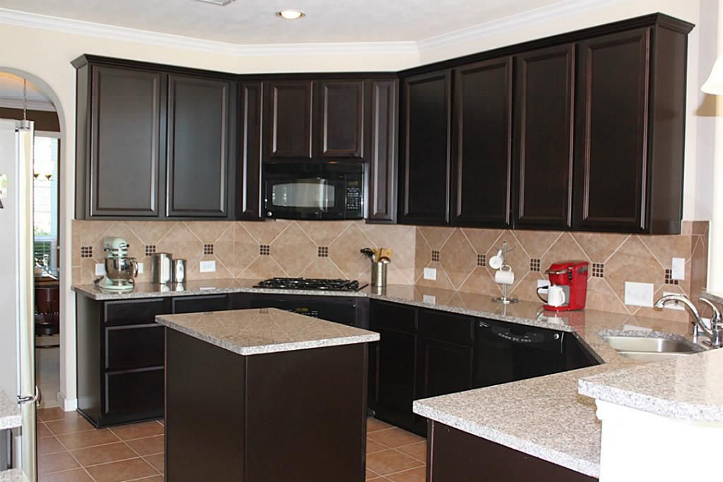 What Color Hardware Looks Best On Espresso Cabinets Google Search New House Pinterest