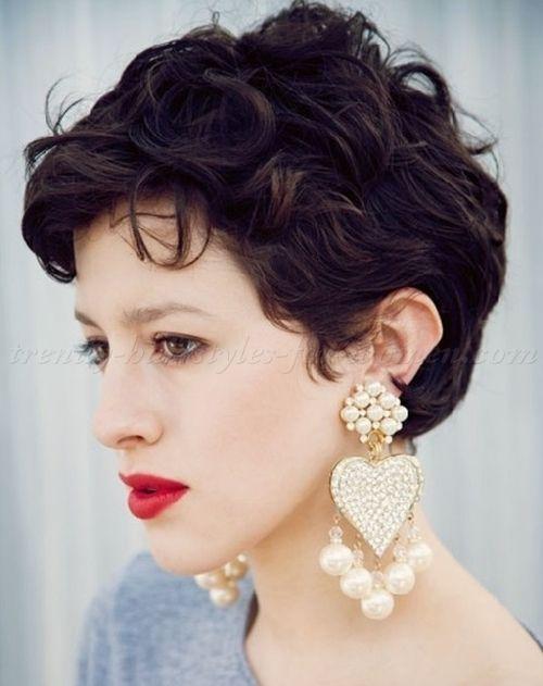 short wavy hairstyles for women - short wavy hairstyle trendy-hairstyles-for-women.com