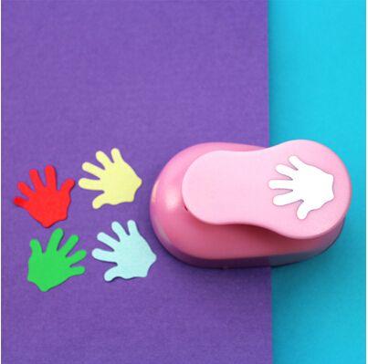 2-2.5cm hand shape EVA foam craft punch paper punch cutter for ...