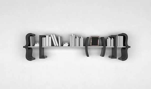 33 Creative Bookshelf Designs Bored Panda Creative Bookshelves Bookshelf Design Artistic Bookshelves