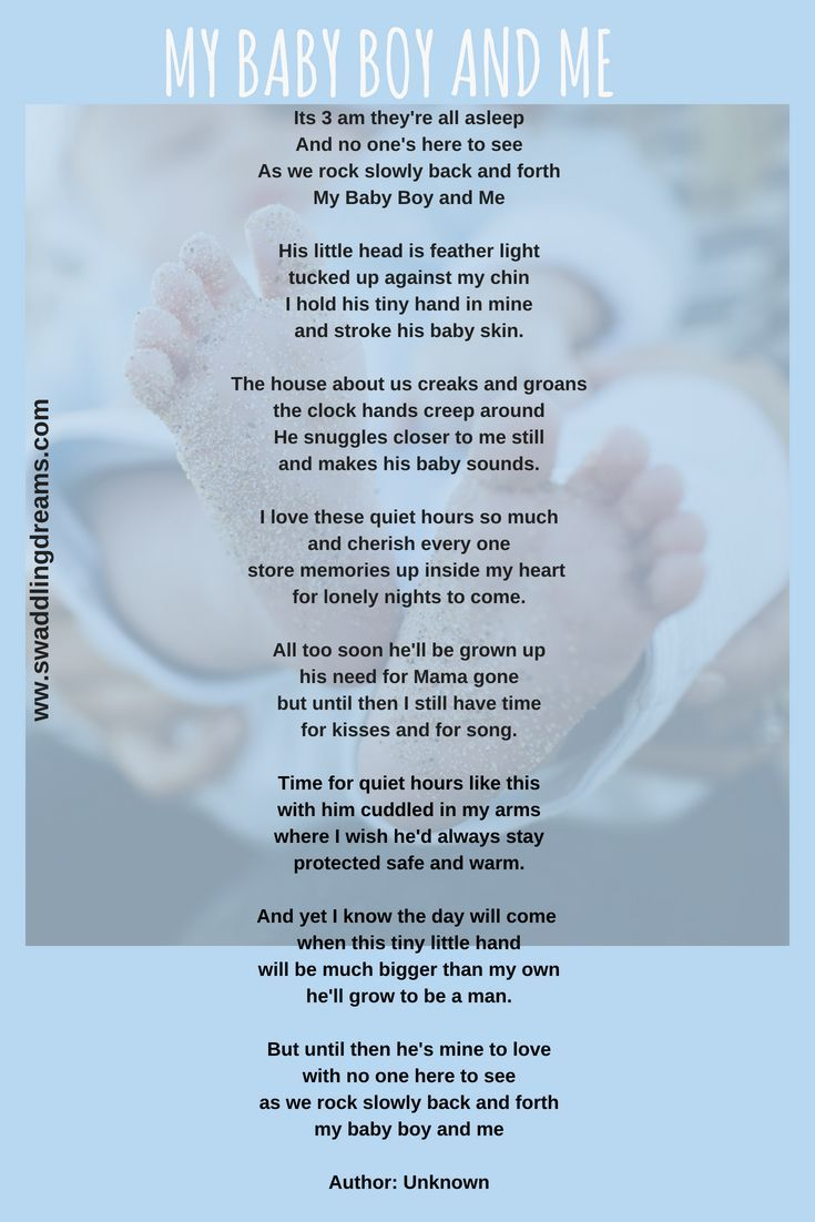 My Baby Boy And Me  Baby Poems, Baby Blessing, Baby Wish List-6263