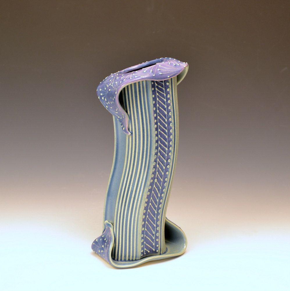 40 OFF Etsy Sale Christmas Sale Elegant Lavendar Vase