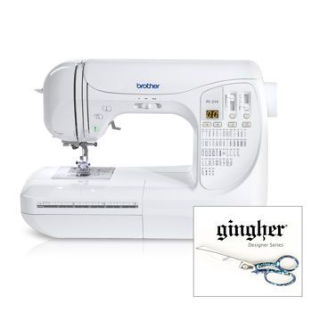 Costco Brother Pc210pkg Computerized Sewing Machine Sewing