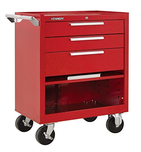 Kennedy Manufacturing 273r 27 3drawer Industrial Roller Cabinet