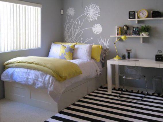 Coole Deko Ideen und Farbgestaltung fürs Schlafzimmer | Deko ideen ...
