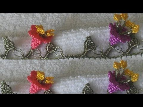 TIĞ OYASI ZİL MODELİ (BELL crochet