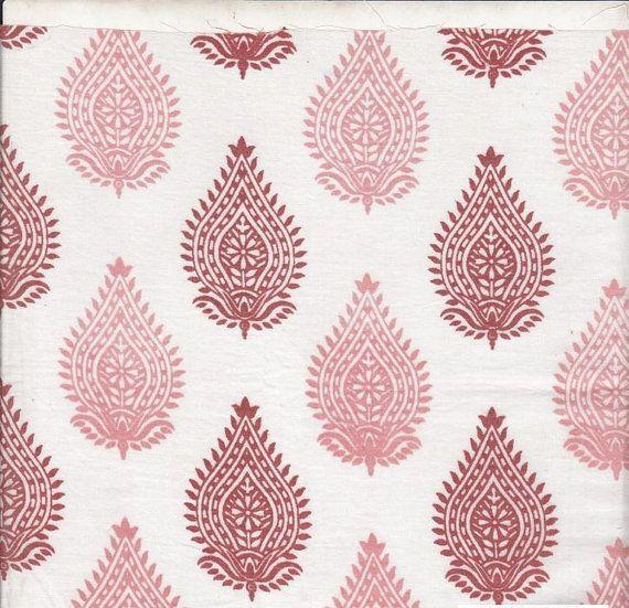 Les 25 meilleures id es de la cat gorie indian block print - Imprimer photo sur tissu ...