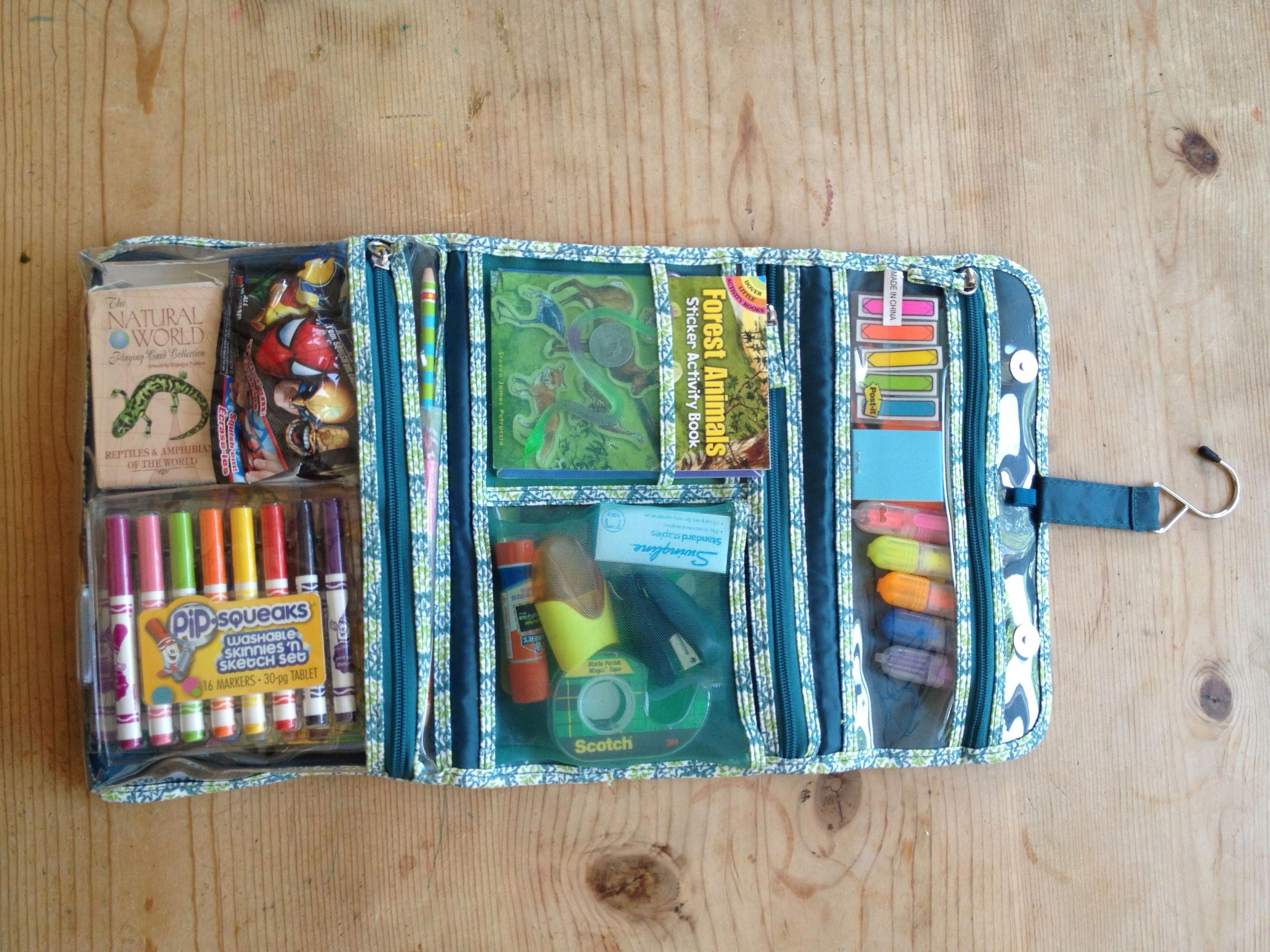 Cosmetic Bag Filled With Goodies For 6 Year Old For Long