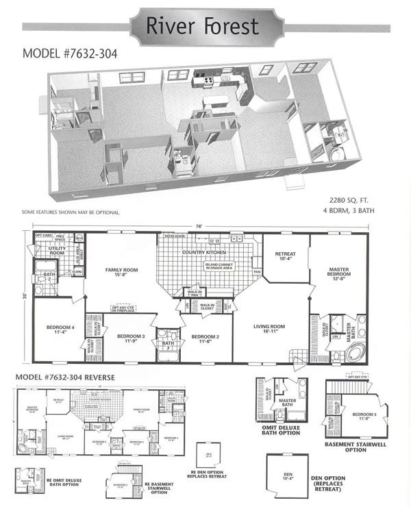 Plans With Retreat Room Manufactured Homes For Sale Mobile Homes For Sale House Plans