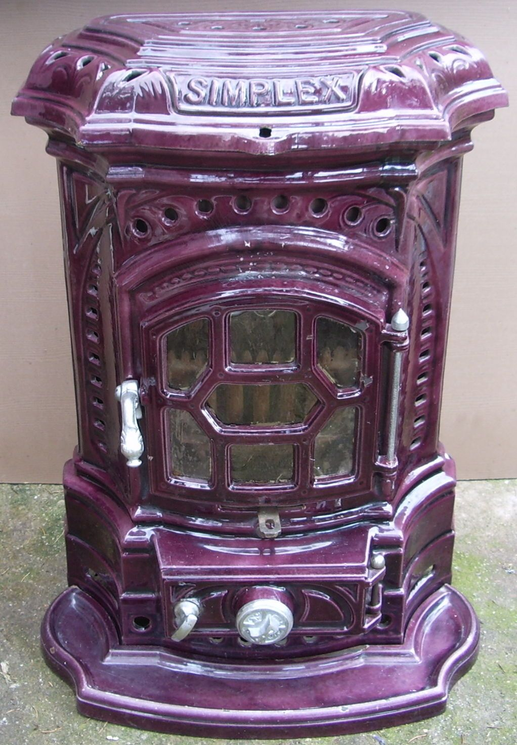 French Wood Burning Stove Wood Burning Stove Stove Vintage Stoves