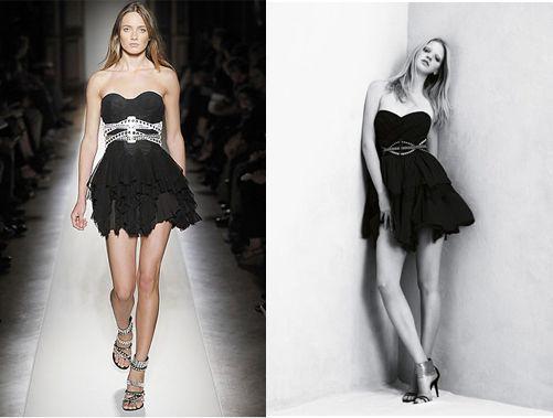 Balmain est flatté que Zara le copie & félicite leur créativité ! - http://bit.ly/1lVTHWP