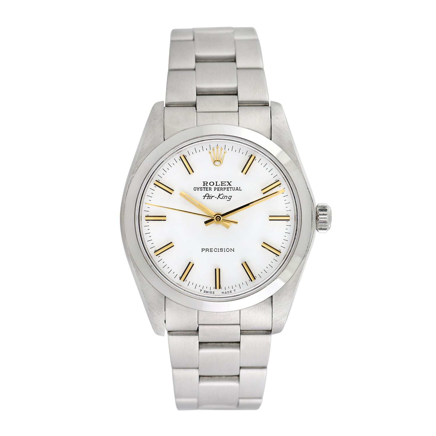 Rolex Airking Automatic // 5500 // PreOwned Rolex, Pre