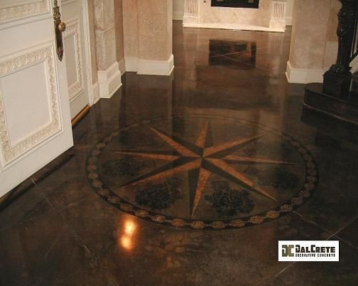 staining concrete basement floors diy stained stenciled cost of to look like wood white