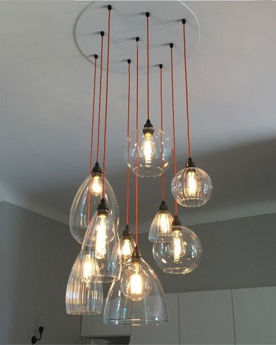 Hereford 3 Light Small Vintage Chandelier