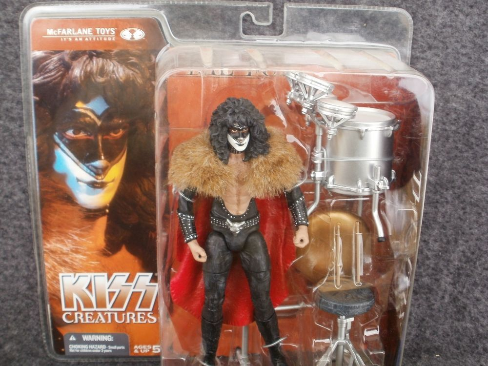 Kiss Creatures Eric Carr As The Fox Action Figure Mcfarlane Toys