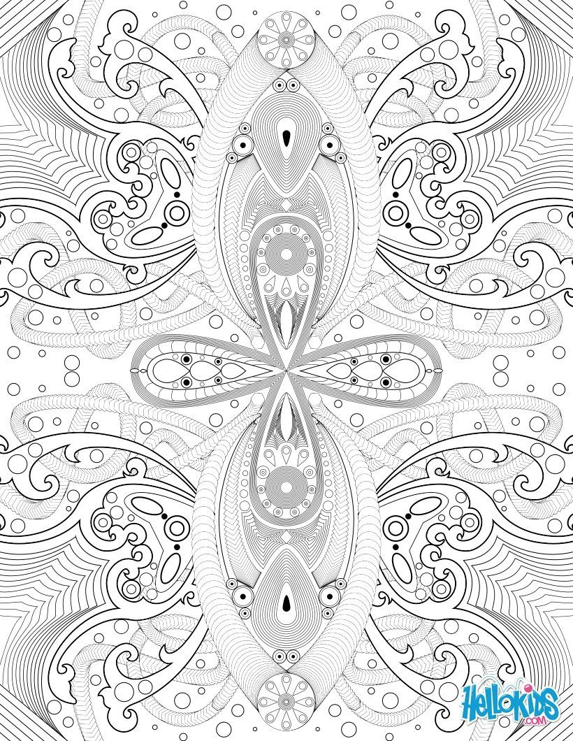 Arabesque coloring page | Coloring prints for adults | Pinterest ...