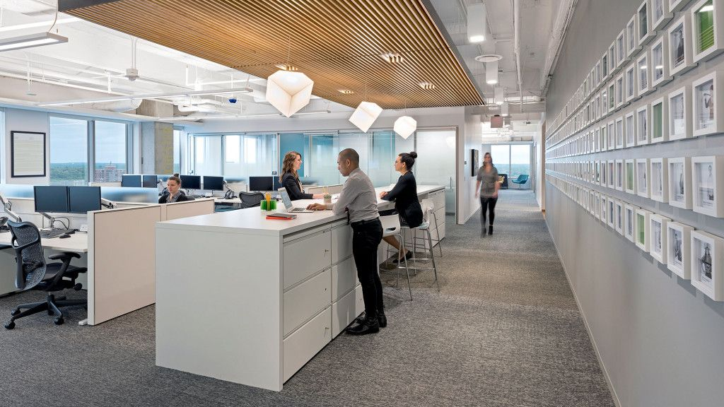 Cbre S Minneapolis Office Provides The Optimal Environment To