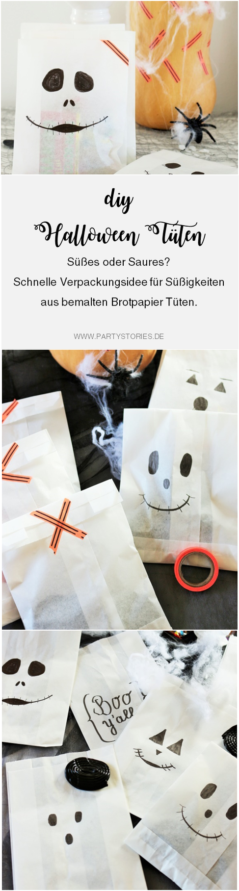 Eine schnelle last-minute Idee, um Halloween Süßigkeiten zu ...