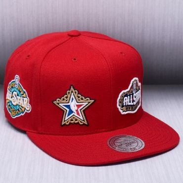 best sneakers 8b4e5 a414e Mitchell   Ness NBA All-Star All Over Snapback Cap